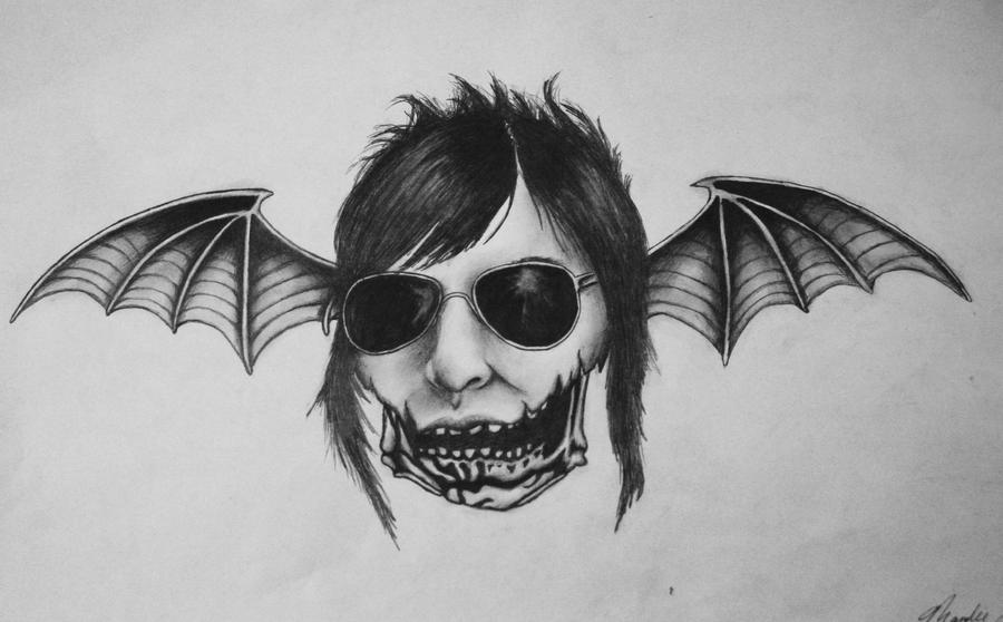 jeff 39 s death bat tattoo by missmandie on deviantart. Black Bedroom Furniture Sets. Home Design Ideas