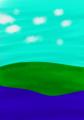 Grassland Near A River by Androgandor