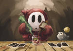 Cocktail of Shy Guy