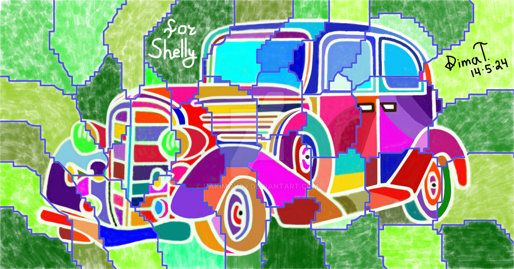 Wonderwall Car for my friend Shelly :D by UAkimov09