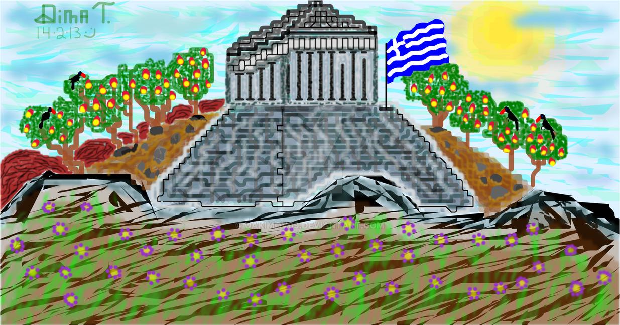 Greece, Acropolis by UAkimov09