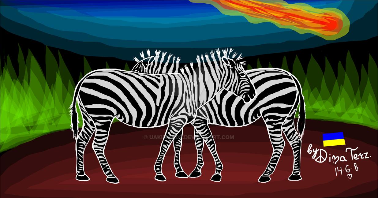 Zebras by UAkimov09