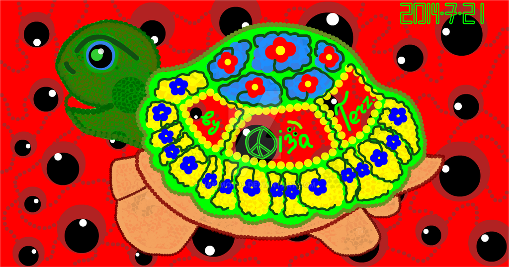 Cute Turtle Dima in Wonderland. by UAkimov09