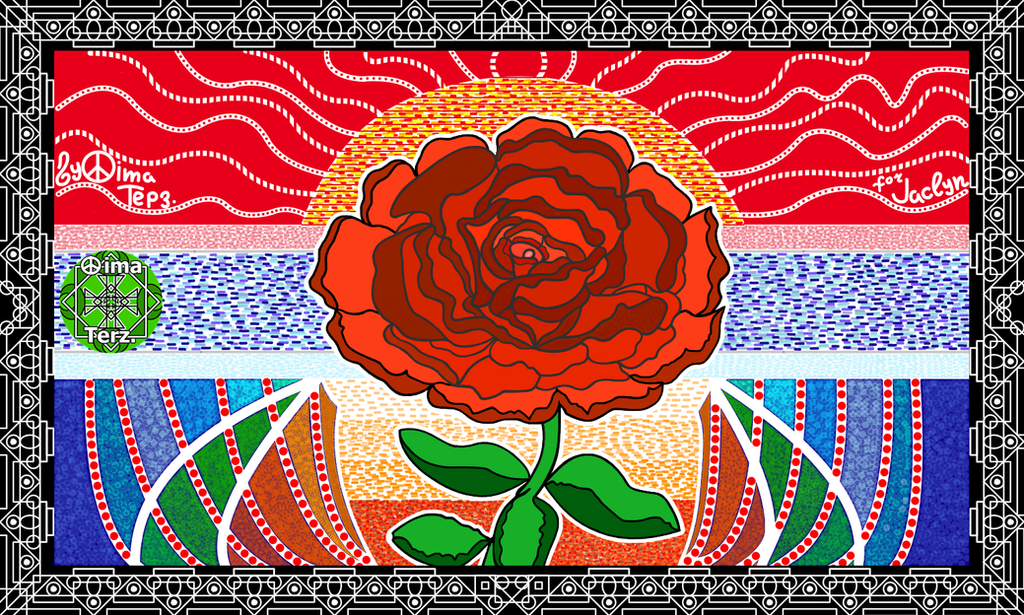 This Rose for Jaclyn from Netherlands ! (a2) by UAkimov09
