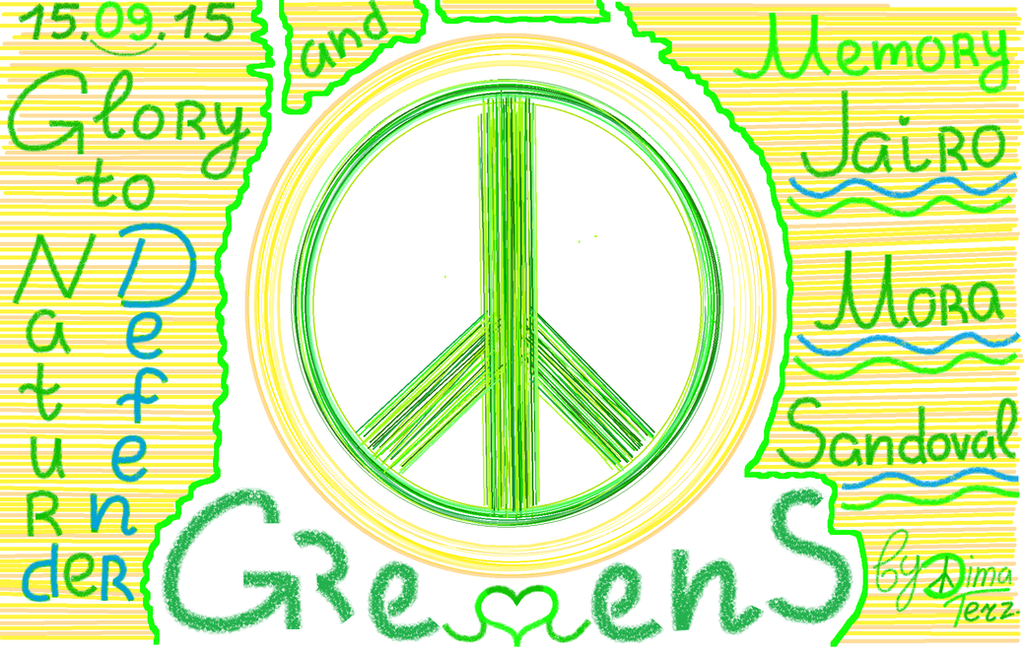 for memory Great Green ( Jairo Mora Sandoval ) by UAkimov09