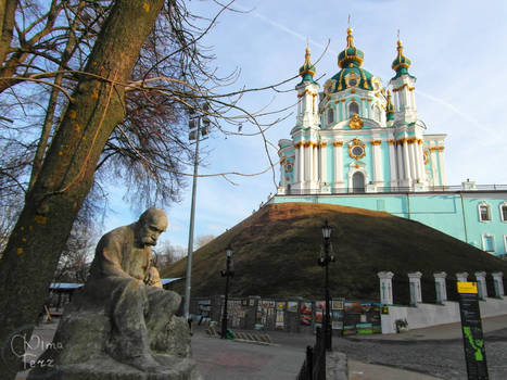 Saint Andrew's Church in Kyiv V by UAkimov09