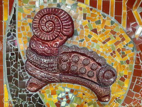 Mosaics of Kyiv. Subway (1)