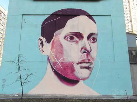 Portrait of a Man by Rodrigo Branco