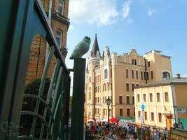 ''Richard's Castle'' in Kyiv 19 09m 07 (2)