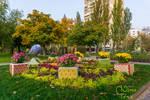 Ukraine , Kyiv , Rusanivka Embankment -9