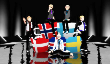 The Nordics in Suit