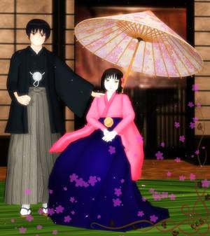 Kiku and Sakura