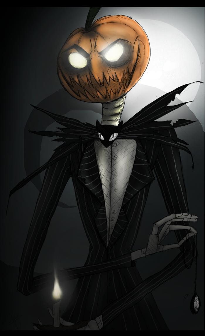 Jack Skellington The Pumpkin King By Drakitaa On Deviantart