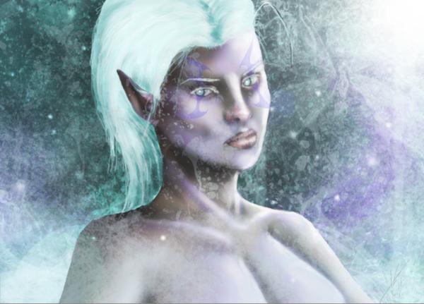 Frost. by Drakitaa