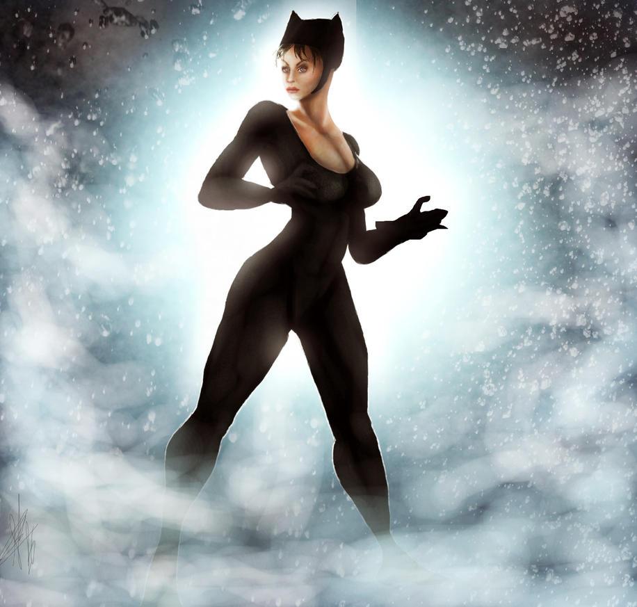 Catwoman. by Drakitaa