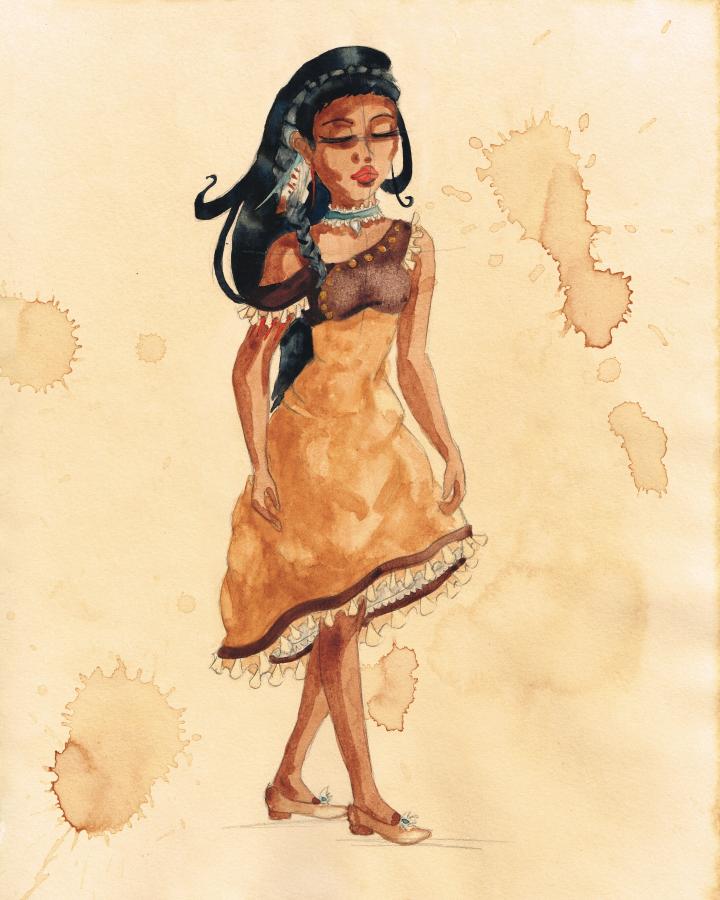 Steampunk Pocahontas by Sasha251125