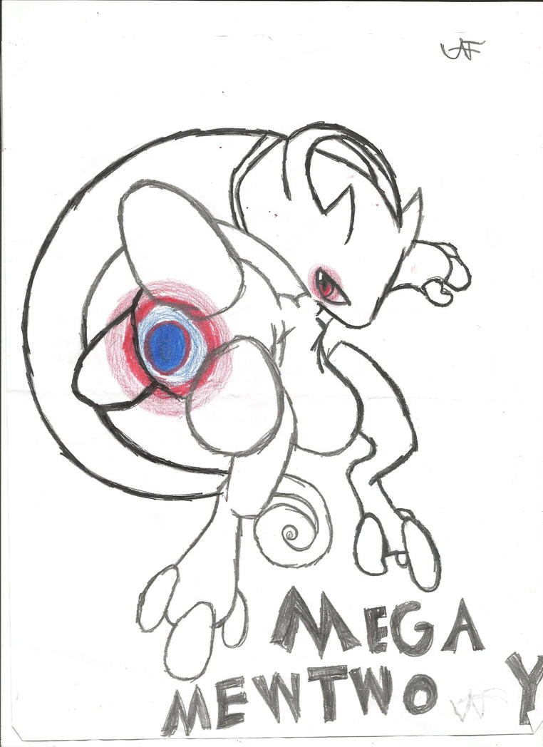 Mega Mewtwo Y by SpiritSoul444