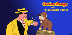 Curious George and The Man with the Yellow Hat by ham549