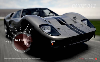 1966 Ford - GT40 MKII by about-zero