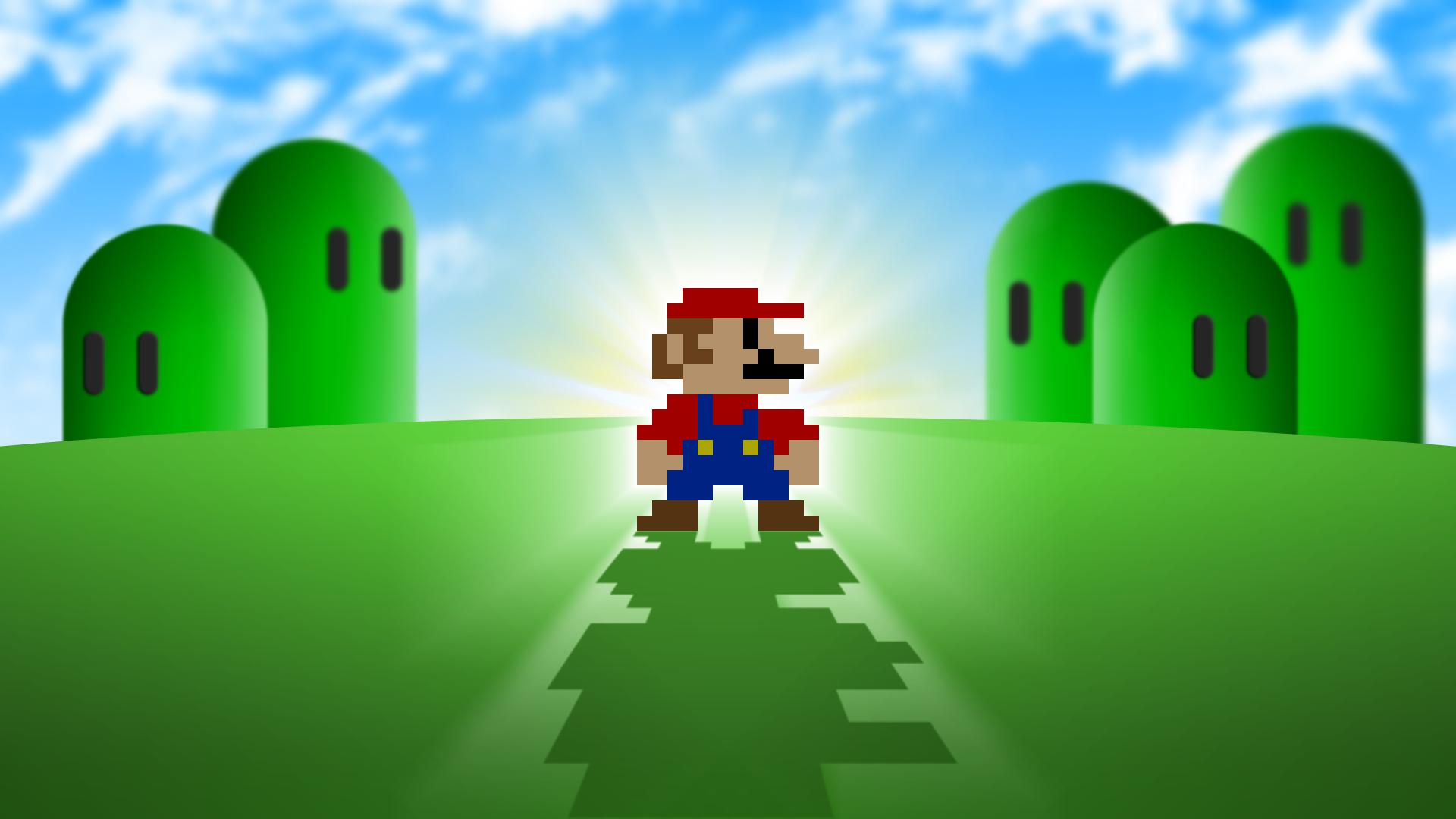 Mario Hd Wallpaper By Fidumppi On Deviantart