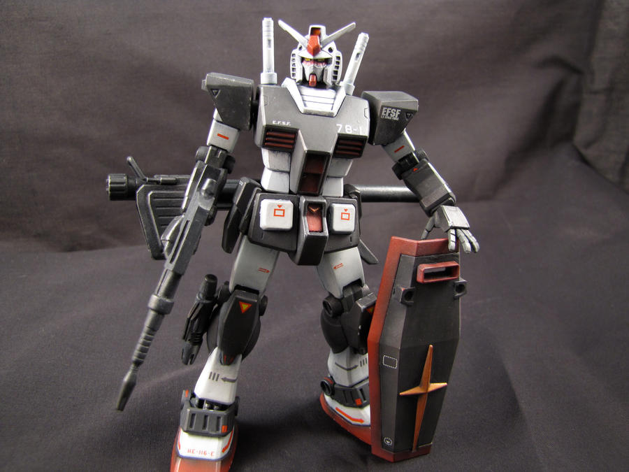 RX-78-1 Prototype Gundam 2 by clem-master-janitor
