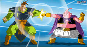 -DBM- South Kaioshin VS Buu