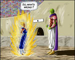 -DBM- Vegetto VS Super namek - color BK-81