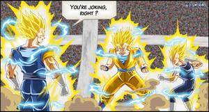 -DBM- Vegetto VS Goku+Vegeta V2