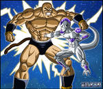 -DBM- Nappa VS Freeza