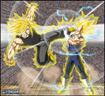 -DBM- Trunks VS Vegeta -V3-