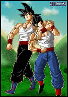 Father and son by DBZwarrior