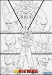 -DBM- lineart - Goku's enemies