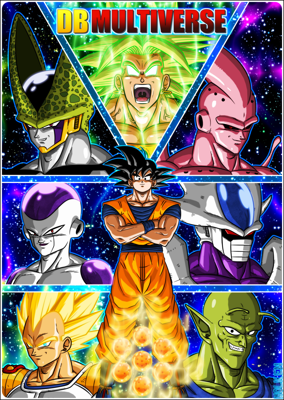 new dragon ball z series