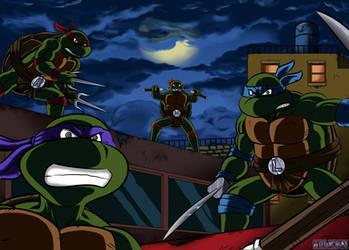 Tortues Ninja Deviantart