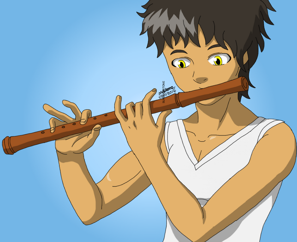 Demon flute by SunbeamStone