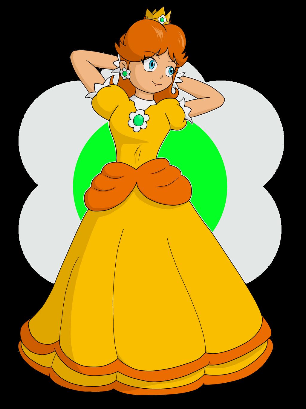 Princess Daisy Super Mario Bros By Sunbeamstone On Deviantart