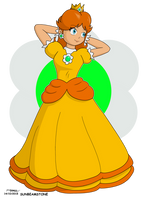 Princess Daisy 'Super Mario Bros' by SunbeamStone
