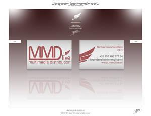 MMDlive BUSINESS CARD DESIGN