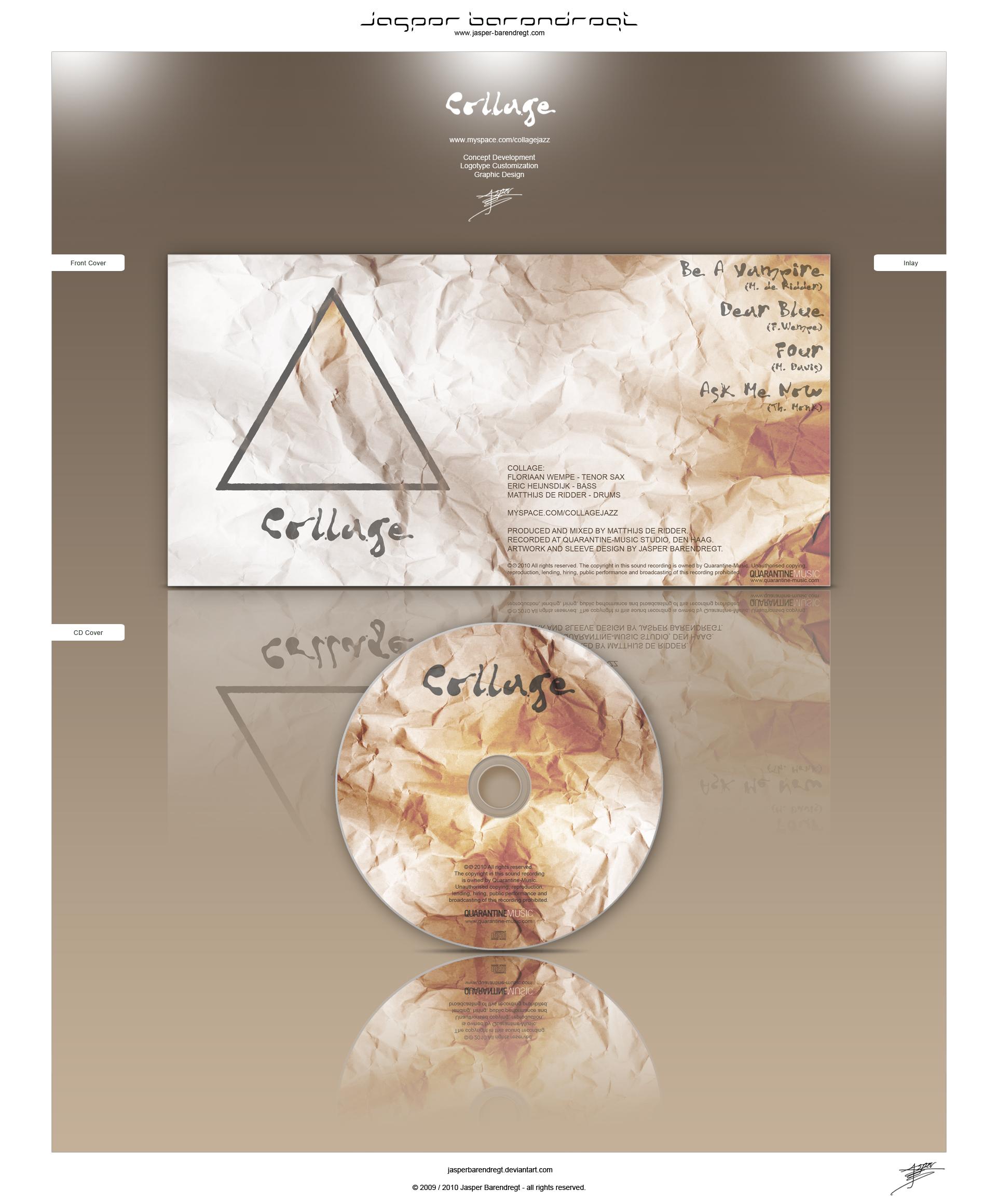 Collage PROMO CD DESIGN by JasperBarendregt