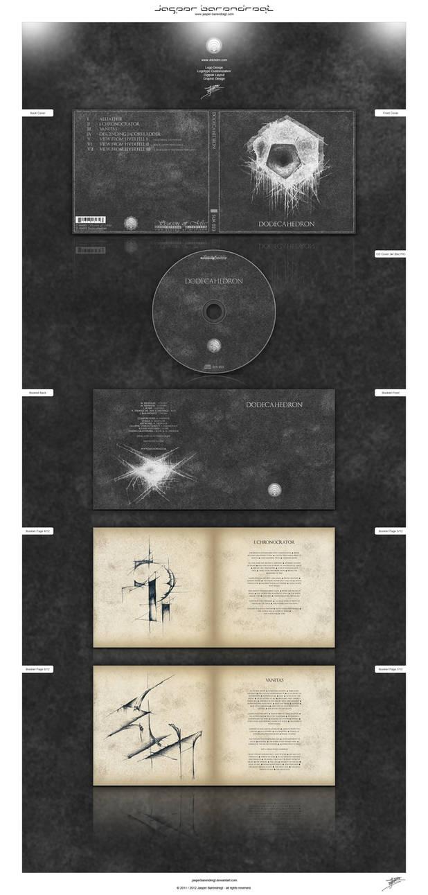 ''Dodecahedron'' DIGIPAK CD DESIGN