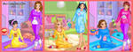 Slumber Party Chilling Dress Up Game by DressUpGamescom