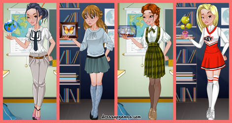 Show and Tell Dress Up Game