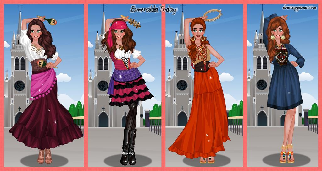 Esmeralda Today Dress Up Game by DressUpGamescom