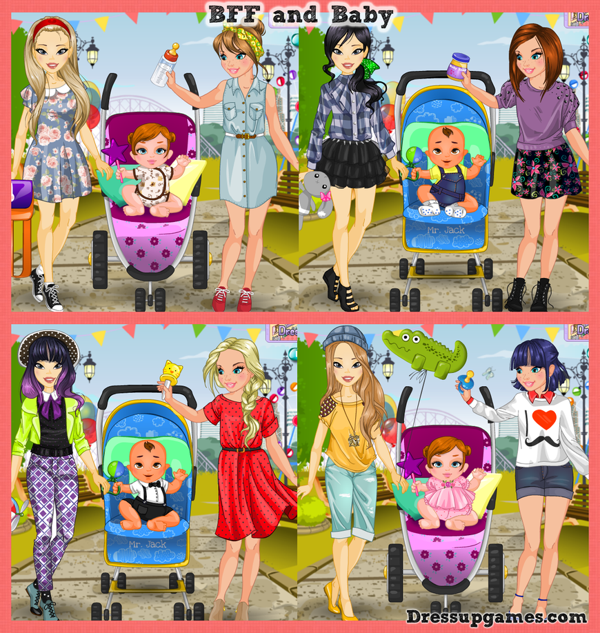 BFF and Baby Dress Up Game by DressUpGamescom