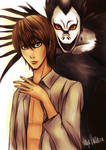 Death Note: Light and Ryuk