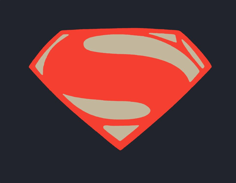 superman man of steel logo drawing wwwpixsharkcom