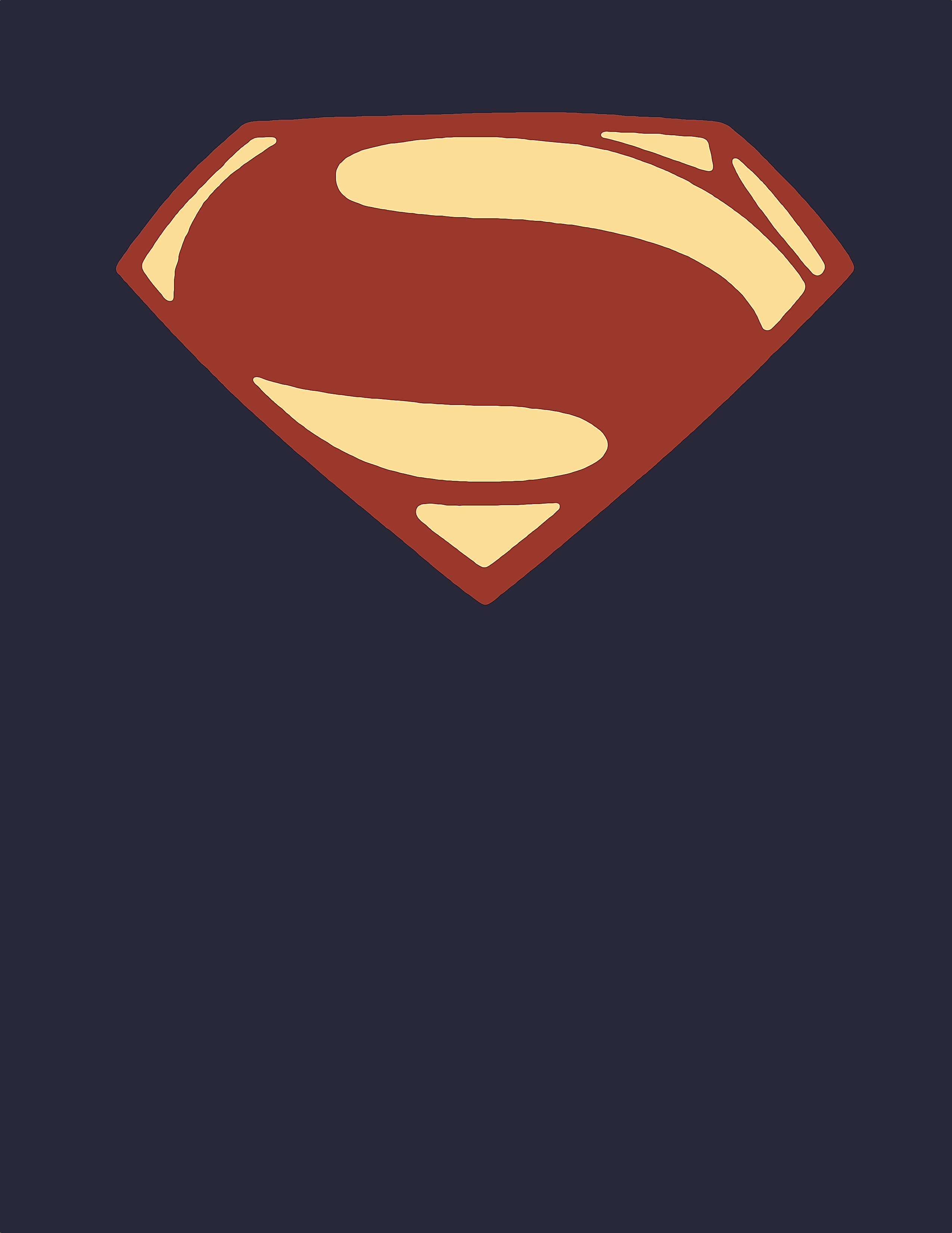 man of steel symbol of hope poster by moonillustrator on