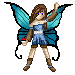 Luna - Pokemon trainer - with wings by Cesiel