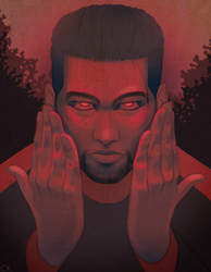the hands that sin under a blood moon