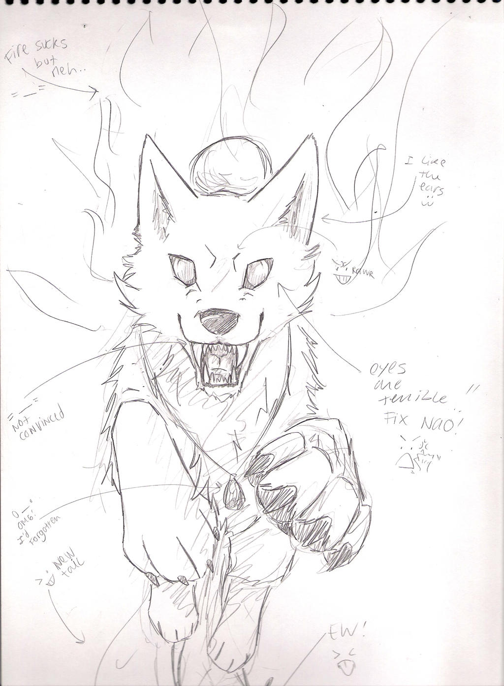 Drawing A Wolf Tutorial 6 Of 7 By Wolfsouled On DeviantArt